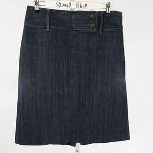 Ann Taylor Jean Skirt Size 8